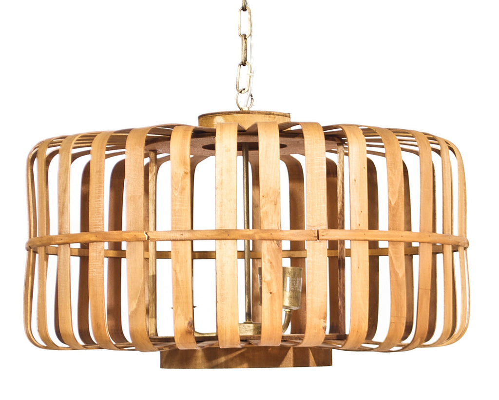 Bamboo cage chandelier ooh events design center bamboo cage chandelier arubaitofo Image collections