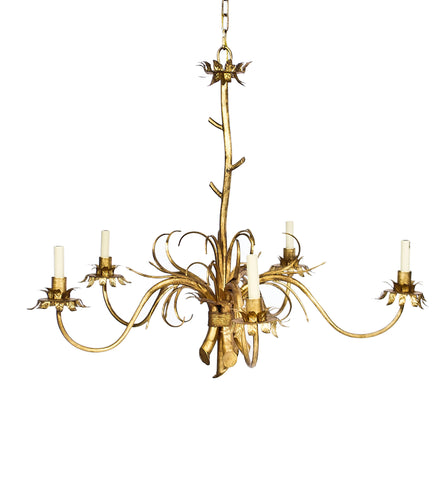 Gold Statement Chandelier