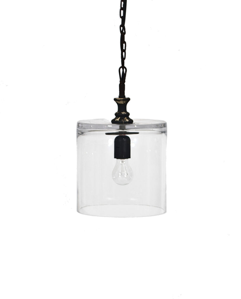 Glass Cylinder Pendant