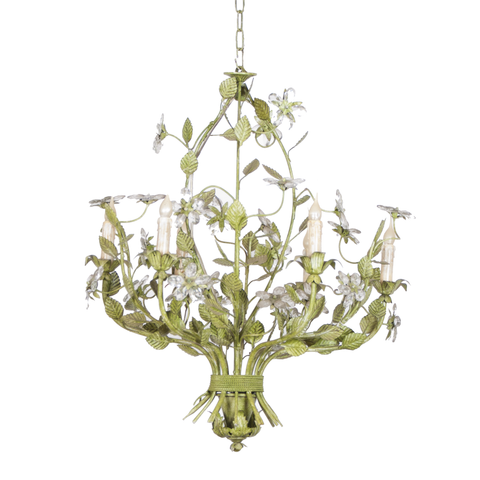 Green Iron Chandelier