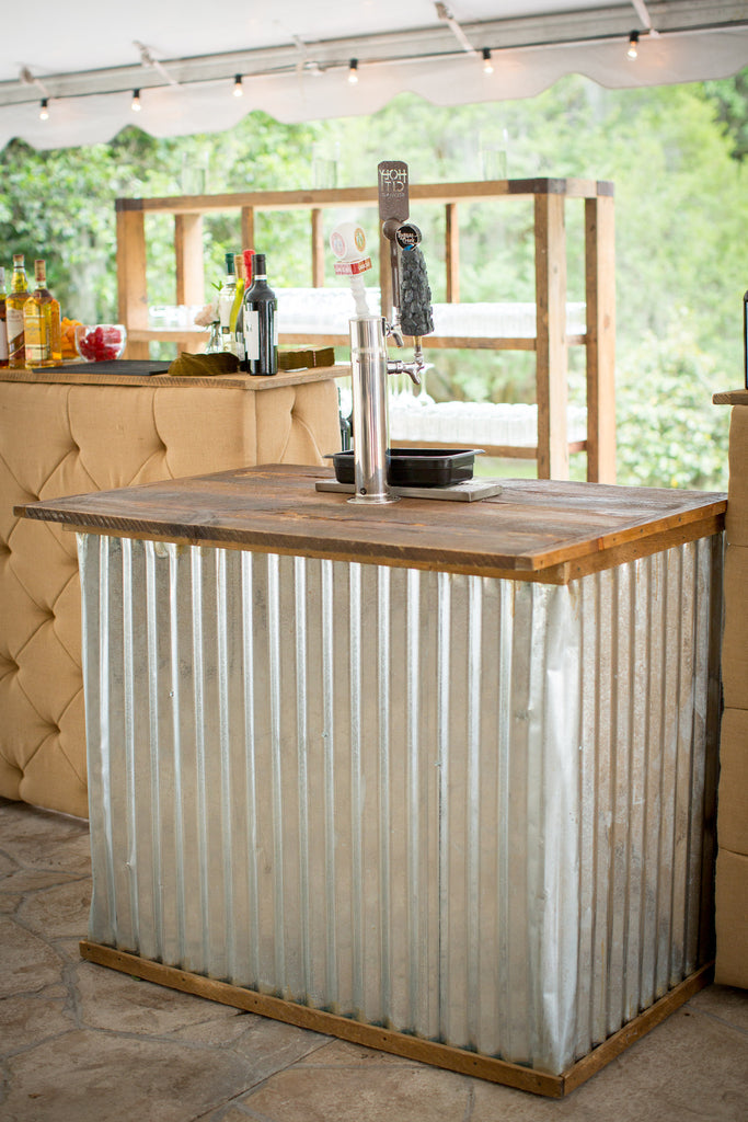 Corrugated Keg Bar
