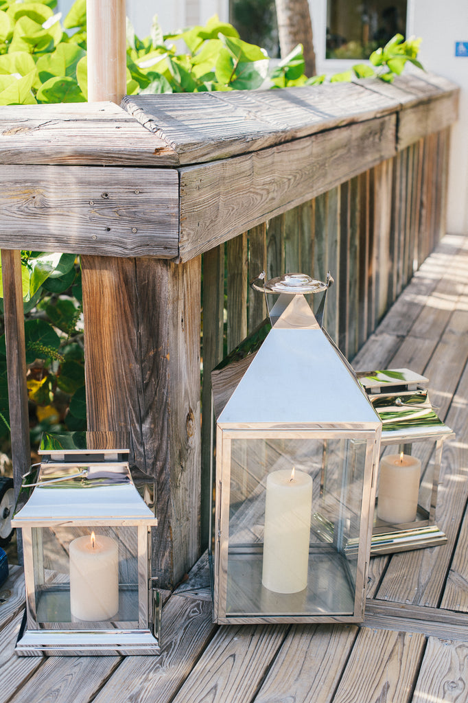 Stainless Carriage Lanterns