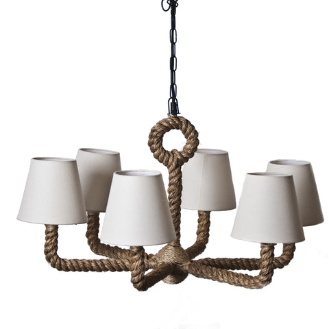 Nautical Votive Chandelier