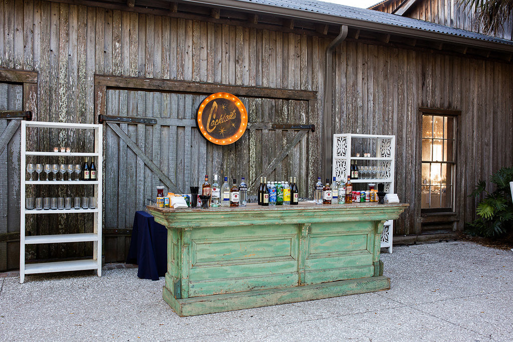 green country store bar, green bar, bar for rent, bars for rent, ooh events bars, green country store bar for rent