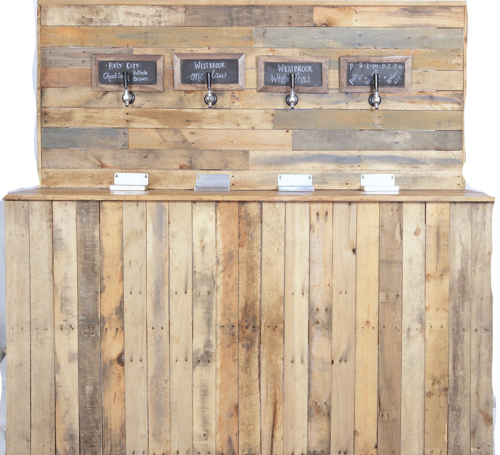 furniture rentals, ooh events, event rentals, rental, rentals, wedding rentals, bar, bar rental, bar service, bar for rent, tap wall bar, beer tap bar, beer bar, tap wall bar, wood, beer