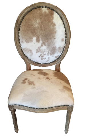 bessie cowhide chair-chair cowhide-chair with cowhide-dining chair with cowhide