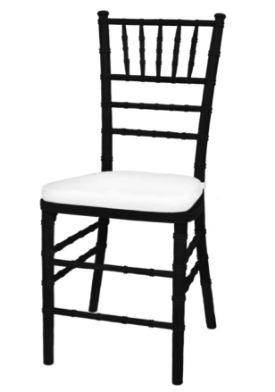 chair, ceremony seating, dining seating, wedding seating, chairs, rental chairs, chairs for rent, charleston, wedding rentals, black chair, chair, chiavari chair