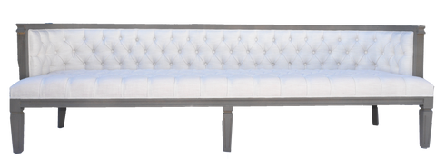 Blane sofa, sofa with grey lattice, white and grey sofa, white and gray sofa, modern sofa