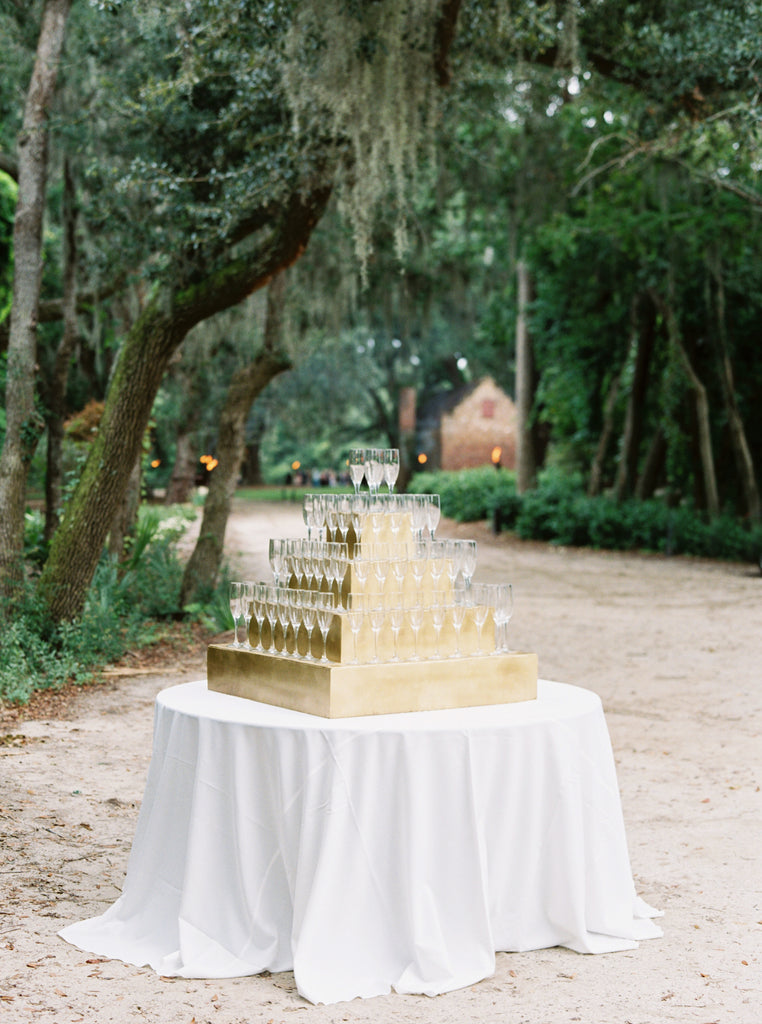Gold Champagne Tower