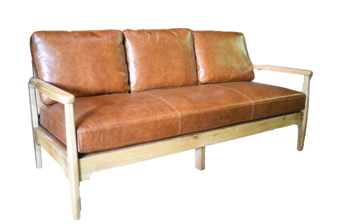 sofa, couch, sofa for rent, rental items, furniture for rent, event planning, ooh events, ooh events couch, ooh events sofa, leather sofa, brown leather sofa, campbell brown leather sofa