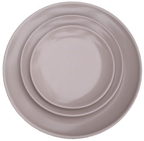 Cappuccino Collection-taupe plate line