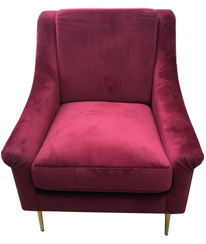 chair, chairs, chairs for rent, rental items, furniture for rent, event planning, ooh events, casabella chair, burgundy velvet chair