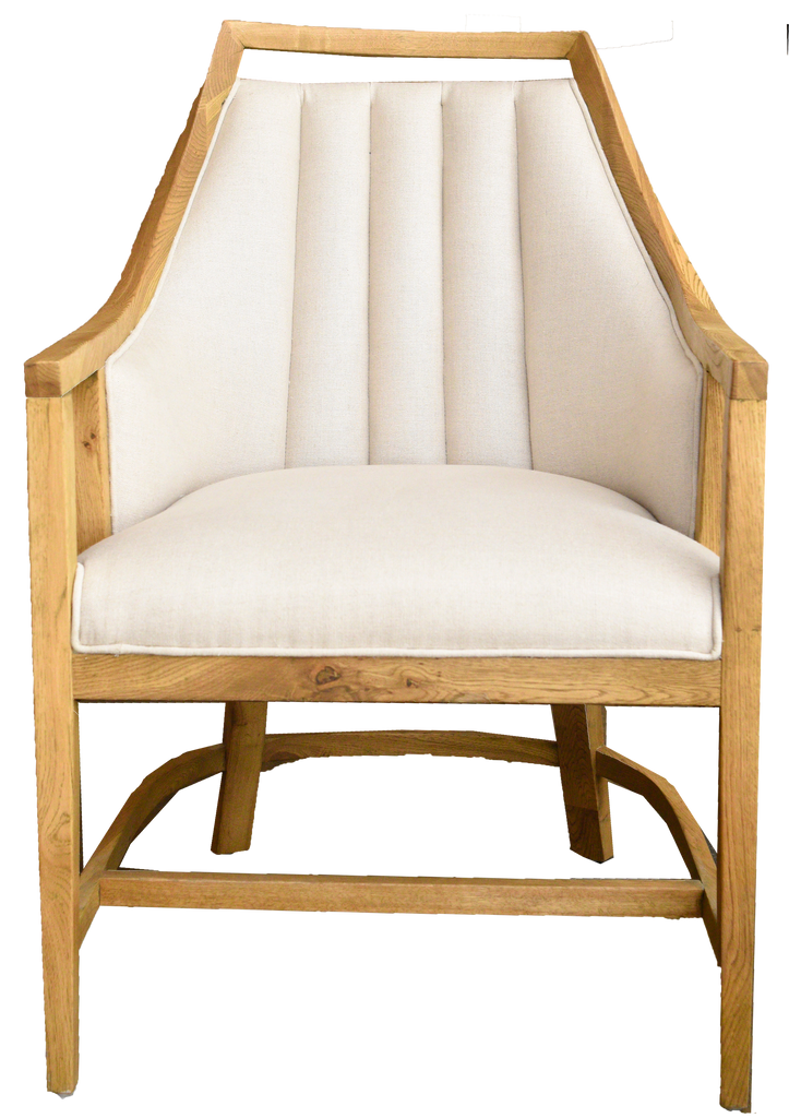 tracee chair, white and wood chair, white and wood chair for rent, charleston rentals, ooh events, chair for rent, lounge rental