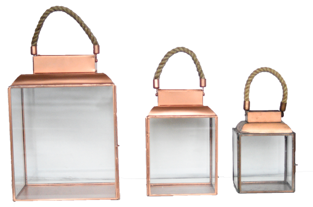 Copper Nautical Lantern