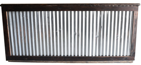 Corrugated Tin Bar