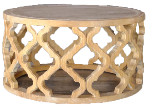 crochet coffee table, wooden crochet table, wooden pattern table, wooden lattice table, table for rent, event table, charleston rentals, ooh events
