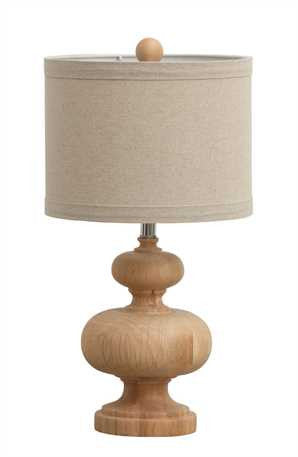 Natural Wooden Lamp
