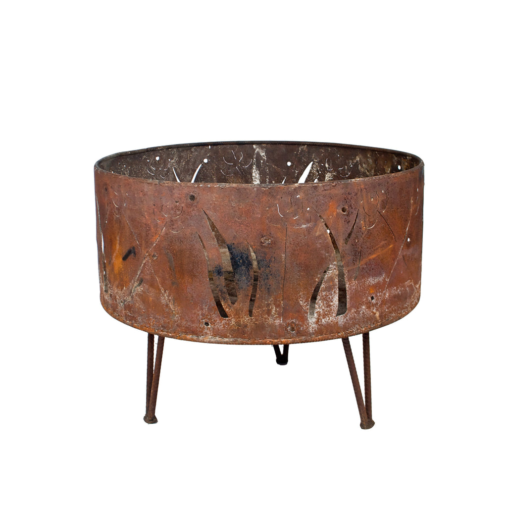Copper with Flame Firepit