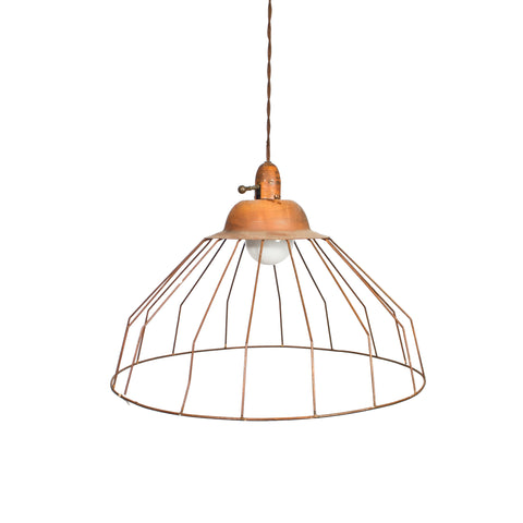 Rustic Cage Light