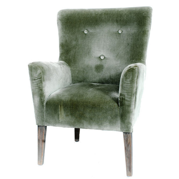 Astounding Sage Velvet Chair Gmtry Best Dining Table And Chair Ideas Images Gmtryco