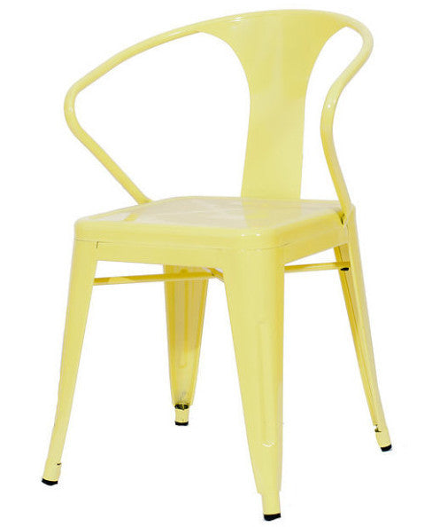 chair, ceremony seating, dining seating, wedding seating, chairs, rental chairs, chairs for rent, charleston, wedding rentals, chair, metal cafe chair, cafe chair, lemon chair, lemon metal cafe chair