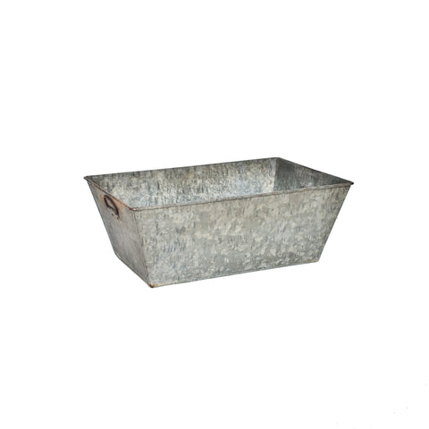 Rectangualr Galvanized Trough