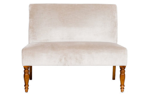 sofa, couch, sofa for rent, rental items, furniture for rent, event planning, ooh events, ooh events couch, ooh events sofa, charleston sc rentals, charleston wedding rentals, champagne loveseat, neutral loveseat, velvet loveseat, velvet settee