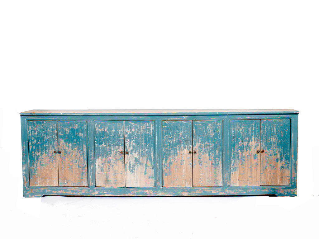 Blue Sideboard Bar