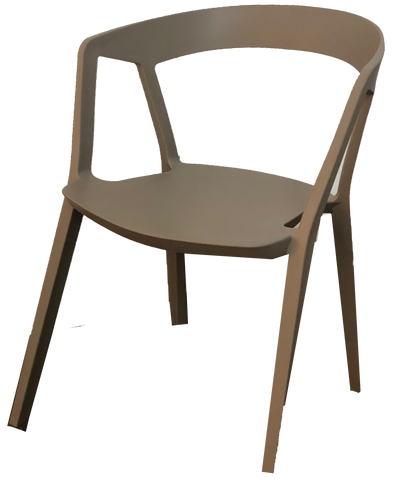 Dark Tan Stacking Chair
