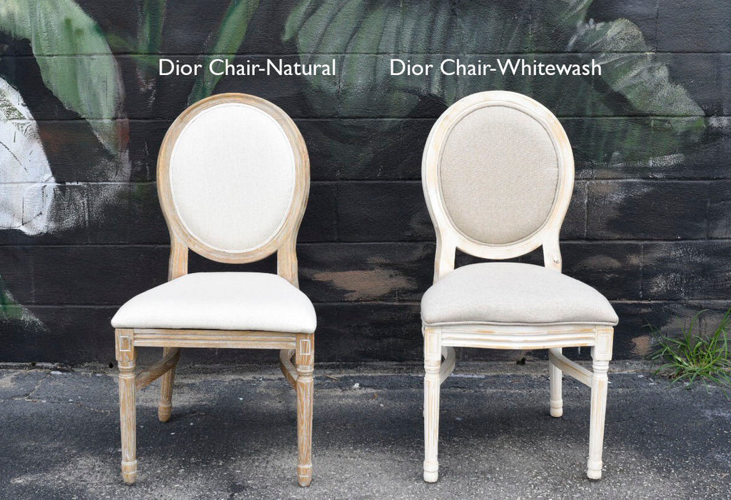 Dior Chair-Whitewash