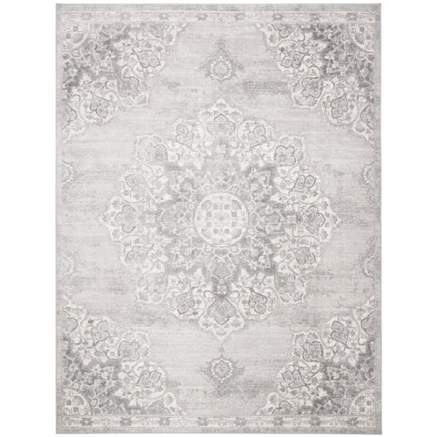 Distressed Medallion Rug