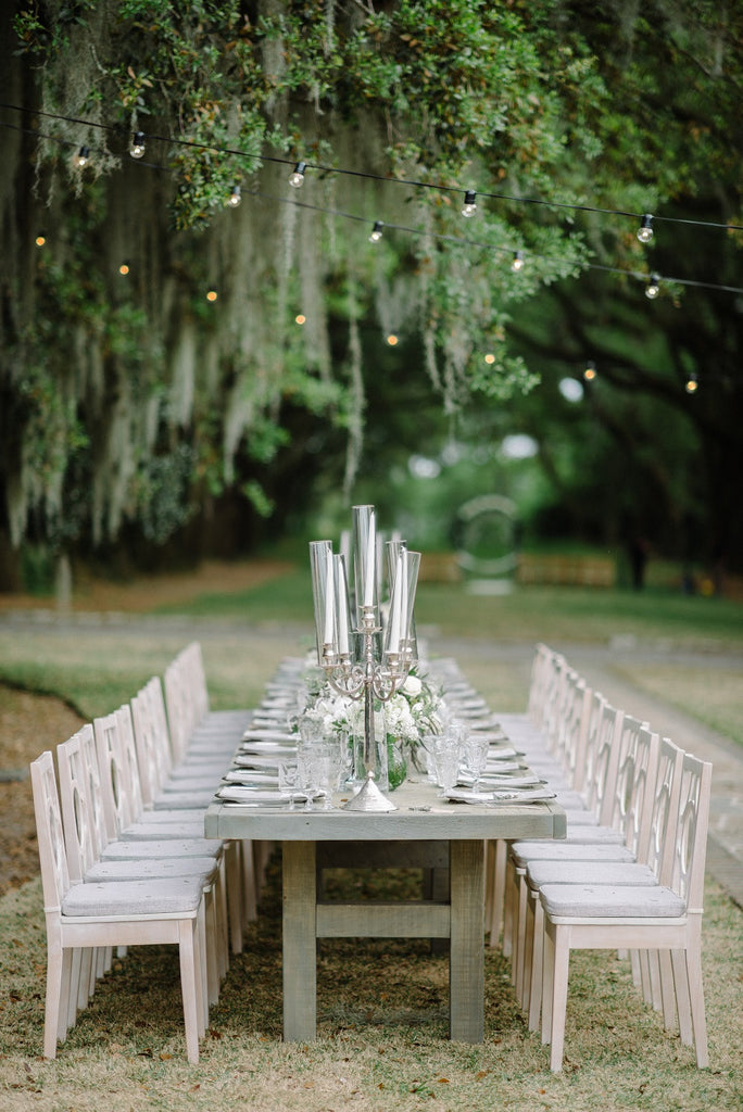 Grey Wash Farm Table