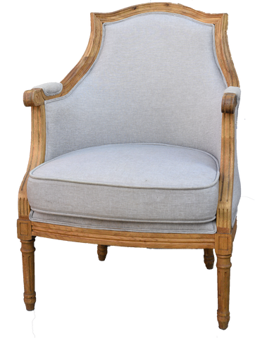 Estelle Linen Arm Chair