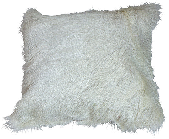 Fur White Pillow