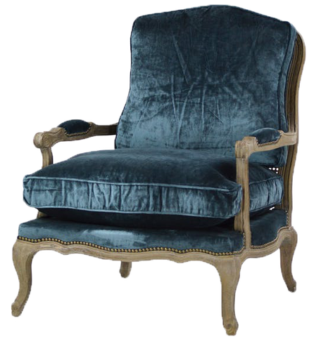 freida chair, blue chair, blue velvet, velvet, blue velvet chair, velvet chair, freida velvet chaircane back chair with blue velvet cushion, cane back chair