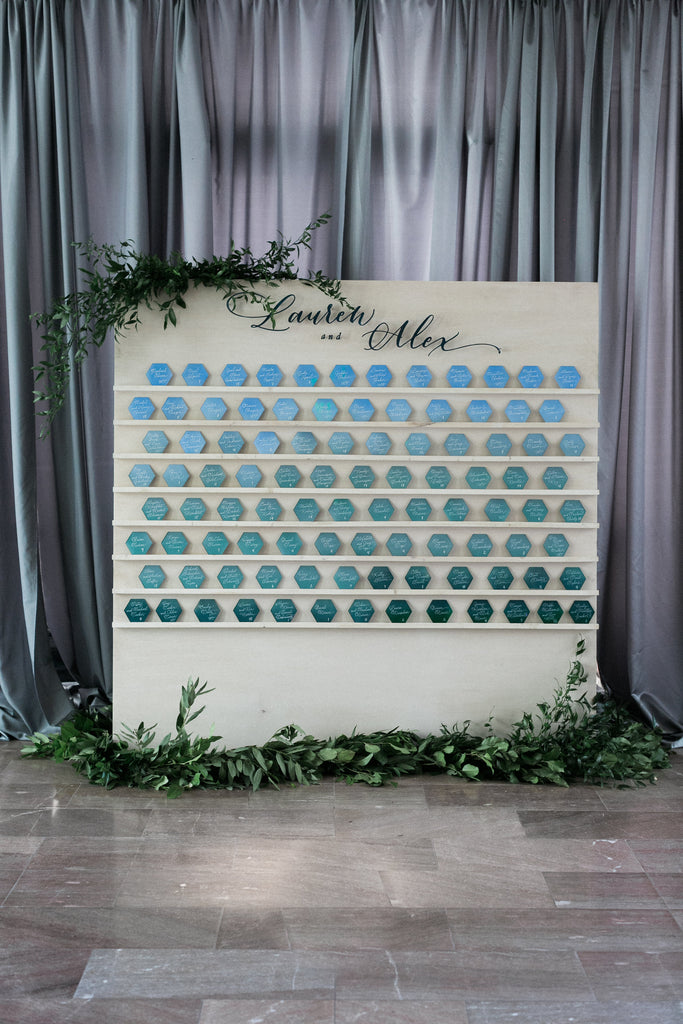 decor, wooden escort wall, wooden escort wall, escort card holder