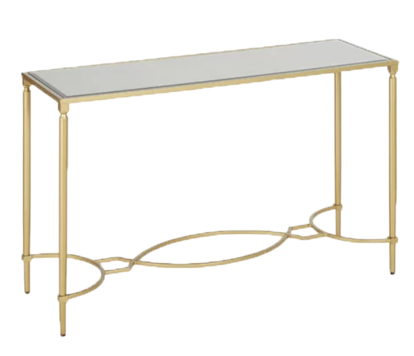 Rosetta Gold Sofa Table