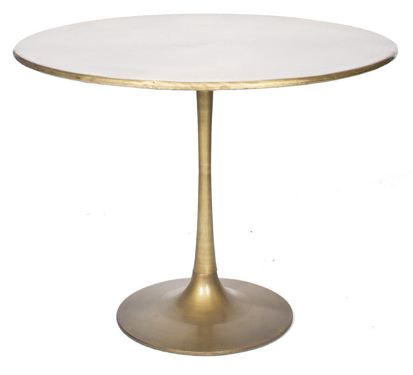 Gold tulip table ooh events design center for Tulip dining table