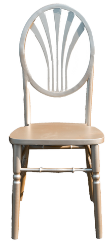 Gold Wheat Back Chair