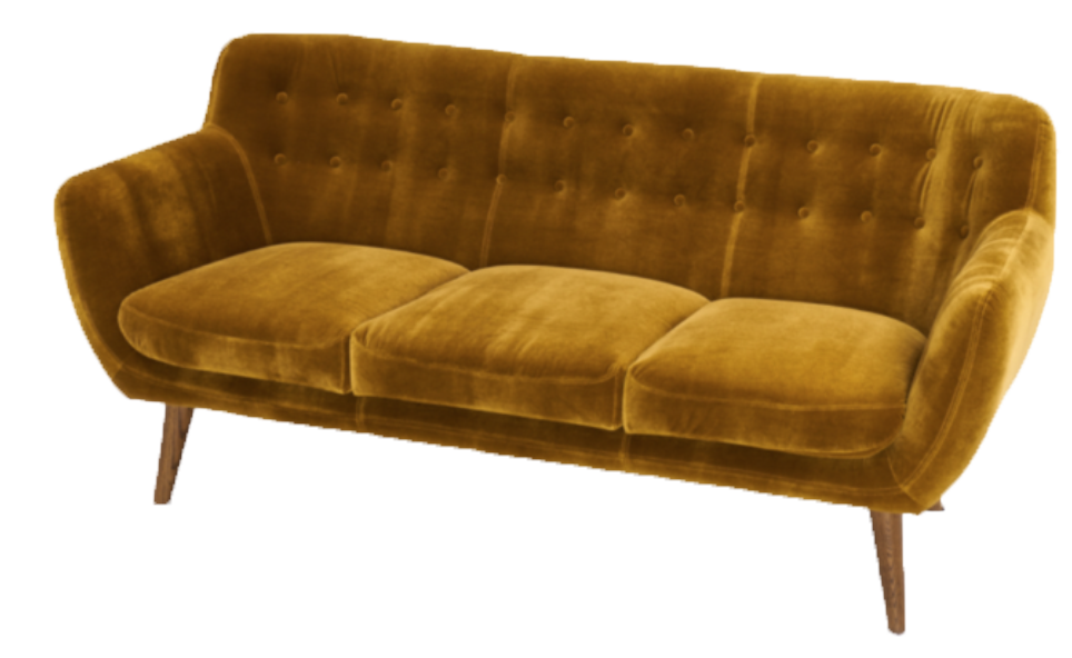 Sofa, Couch, Sofa For Rent, Rental Items, Furniture For Rent, Event