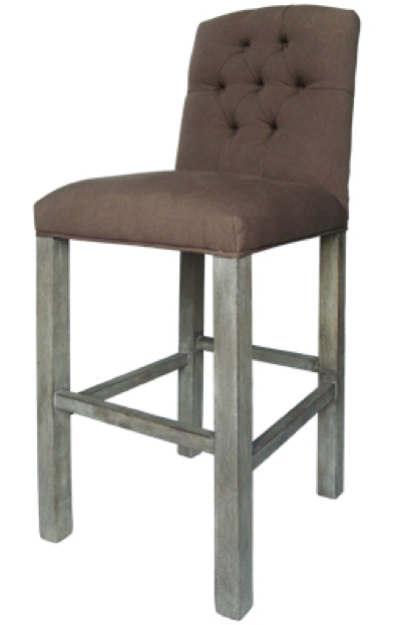 chair, ceremony seating, dining seating, wedding seating, chairs, rental chairs, chairs for rent, charleston, wedding rentals, barstool, grey barstool, tufted grey barstool, tufted barstool