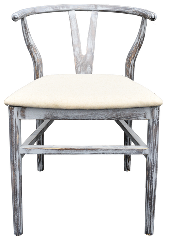 Wishbone Chairs-Grey