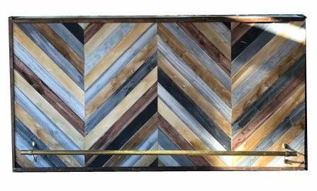 Shiplap Chevron Multicolor Bar