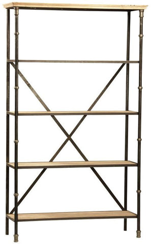 Iron Cross Bookshelf