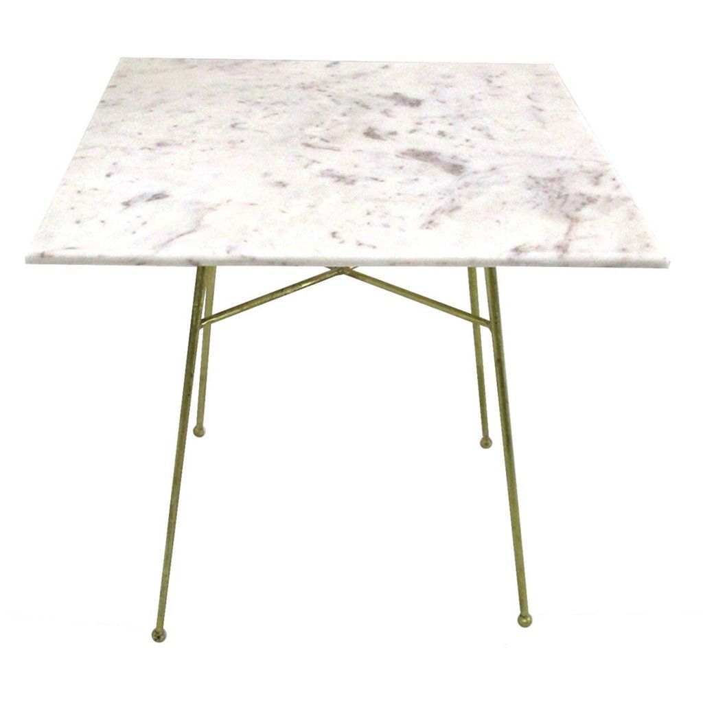 Jani Marble Top Side Table