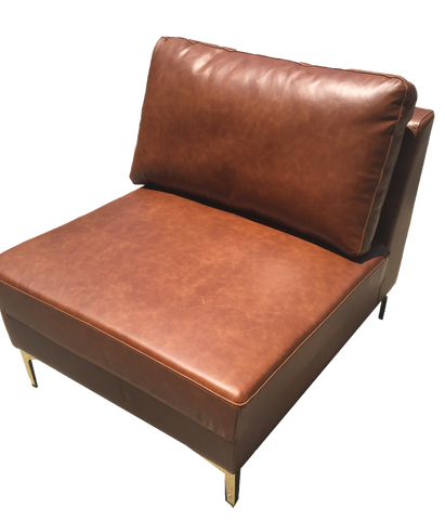 chair, chairs, chairs for rent, rental items, furniture for rent, event planning, ooh events, leather chair, kiegen leather chair, brown leather chair