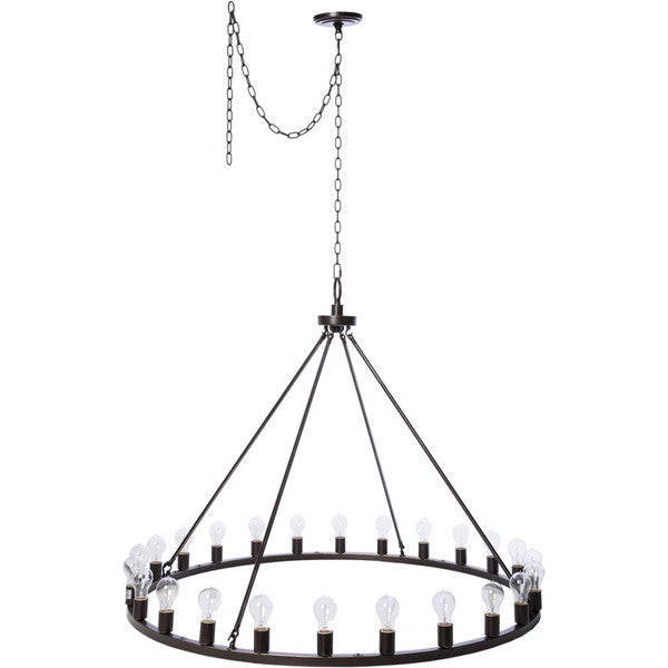 sc 1 st  Ooh! Event Rentals - Ooh! Events & Liam Oil Rubbed Bronze 24-light Chandelier u2013 Ooh! Events Design Center
