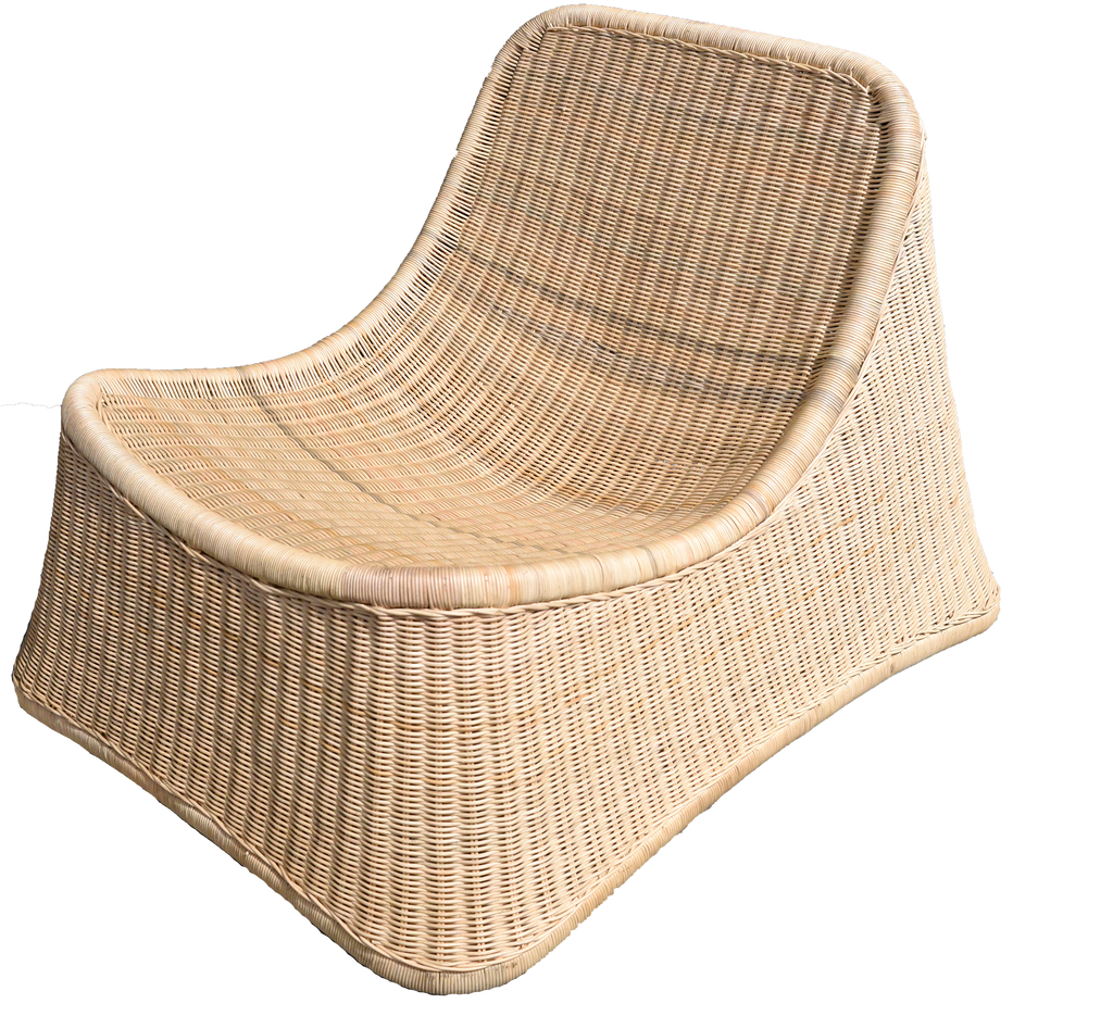 Rattan Low Chair