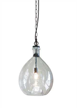 Oversized Glass Pendant