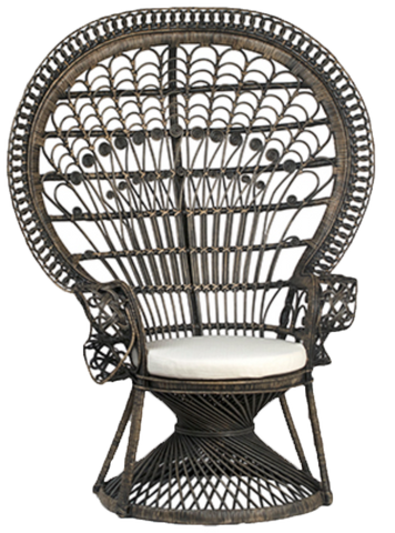 peacock chair, mrs peacock, peacock chair